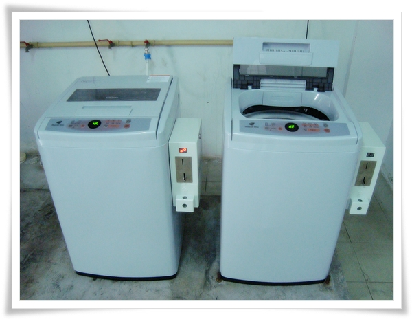 Slot washing machine