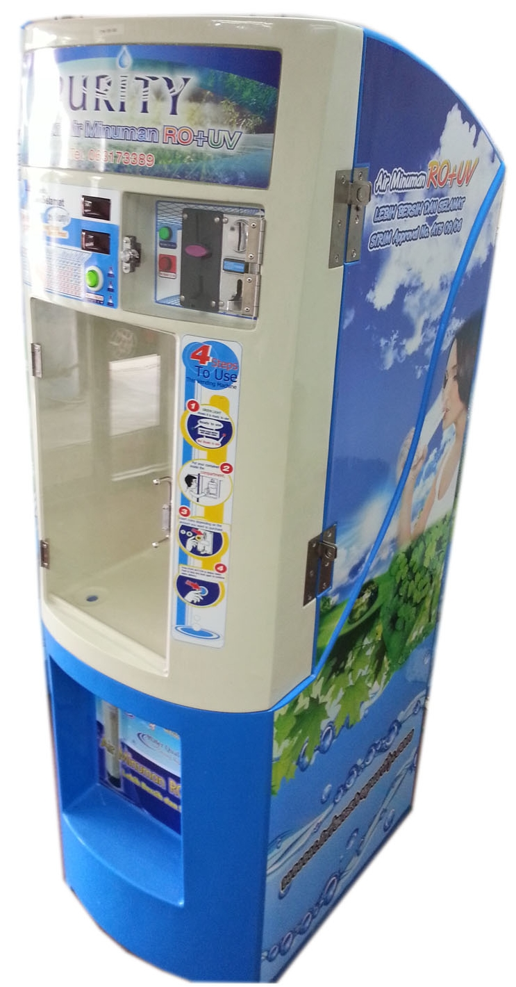 150L RO+UV water wending machine